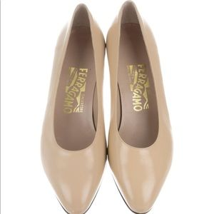 Salvatore Ferragamo Shoes - Salvatore leather pump! Brand new